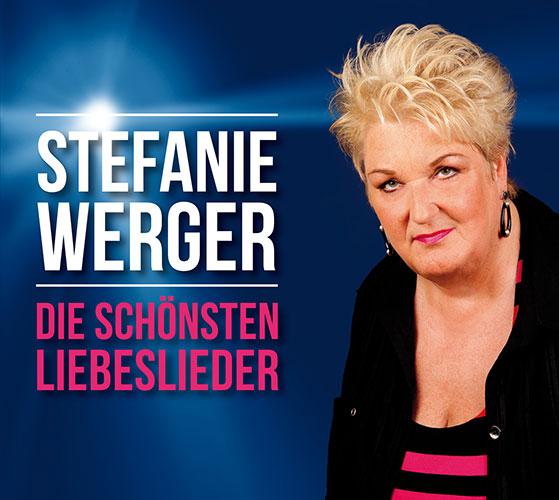 CD Cover Stefanie Werger - Die schoensten Liebeslieder